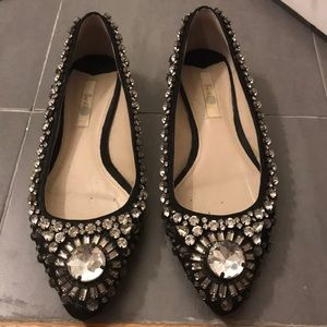 Boden bedazzled flats